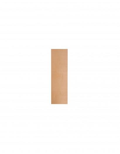 Côté coulissant en bois plaqué 80 cm