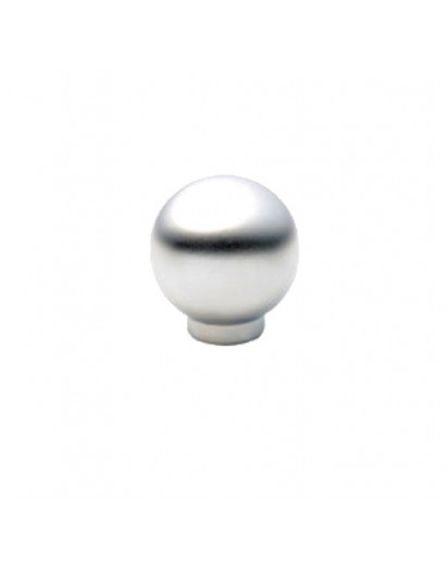 Bouton en métal chromé brillant