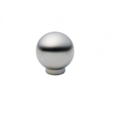 Bouton en métal nickel mat