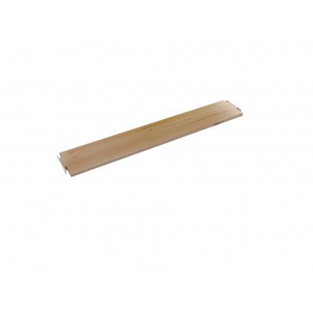 Tablette droite simple 80 cm