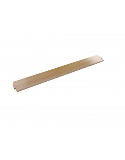 Tablette droite simple 100 cm