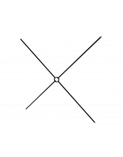 Croisillon à anneau 80x50 cm