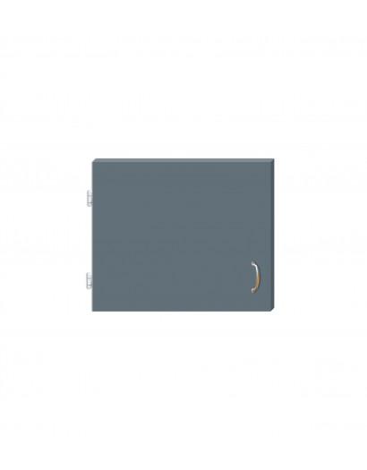 Porte en médium peint - charnière à gauche 50 cm