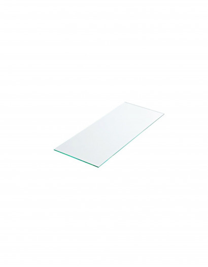 Tablette verre securit dépoli 80 cm