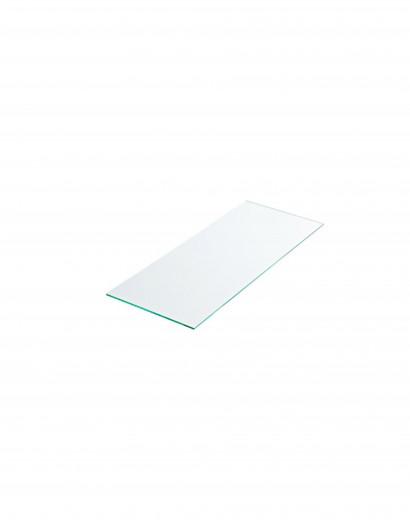 Tablette verre securit dépoli 80 cm