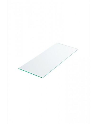 Tablette verre securit dépoli 100 cm