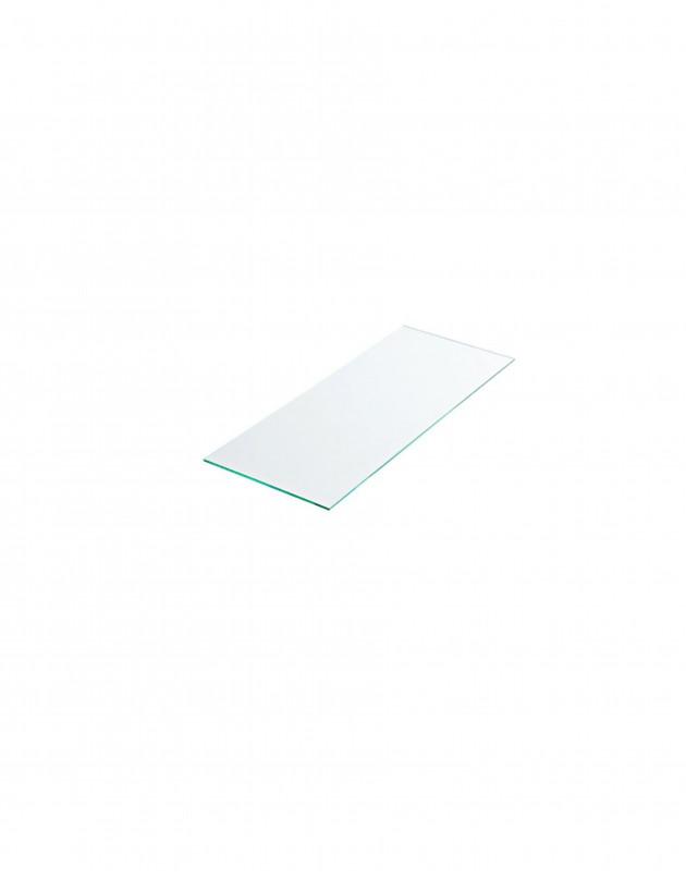Tablette verre securit dépoli 50 cm