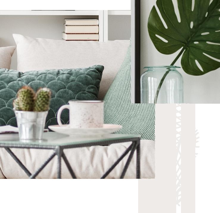 Le mobilier bois & les teintes pastels